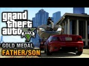 GTA 5 - Mission #4 - Father/Son [100% Gold Medal Walkthrough]