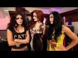 (O9) Melina Perez, Layla El & Maria Kanellis Backstage (O9)