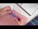 Юбка крючком по мотивам Ванессы Монторо перекрещенные столбики с накидом вяжем образец