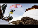 Epic Speedriding Through Steep Canyons and Small Towns In the Alps