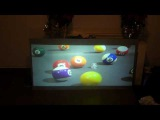 HDTV LIKE PROJECTION SCREEN INCREDIBLE PICTURE NEC VT595 LUMENS 2000 AT 600 X 800 SVGA 720p