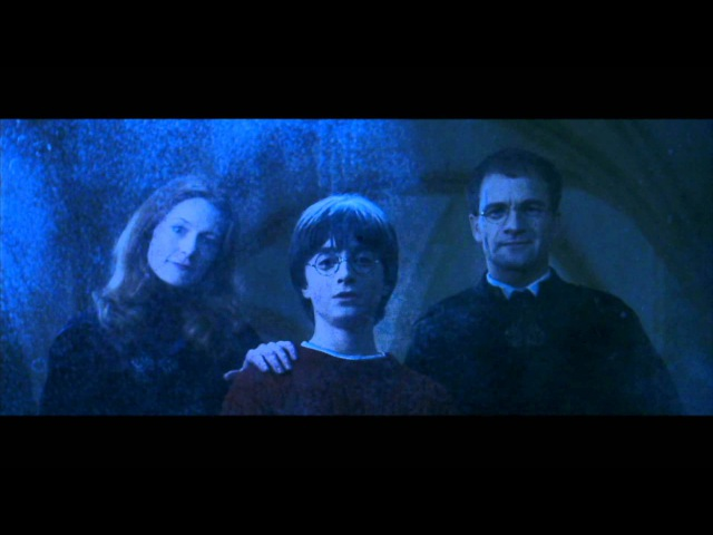 Harry Potter and the Philosopher's Stone - Harry sees his parents in the Mirror of Erised (HD)