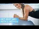 6 Moves for the Abs with an Exercise Ball