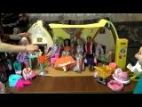 Домик для кукол с мебелью. Барби семья и их друзья
