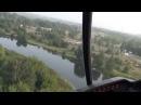 Полет на вертолете над Воронежем 14.08.2013