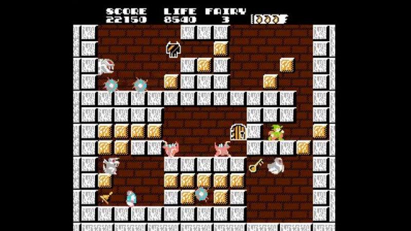 NES Longplay [585] Solomon's Key