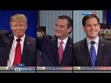 Вести.Ru: Статуя Свободы показала средний палец кандидату в президенты США