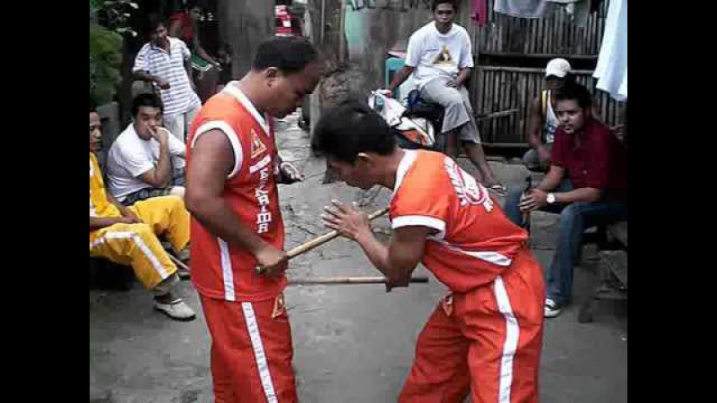 Heyrosa De Cuerdas Eskrima - Stick Fighting