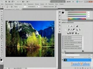 Обзор Adobe® Photoshop® CS5 - Инструменты «Размытие», «Резкость» и «Палец»