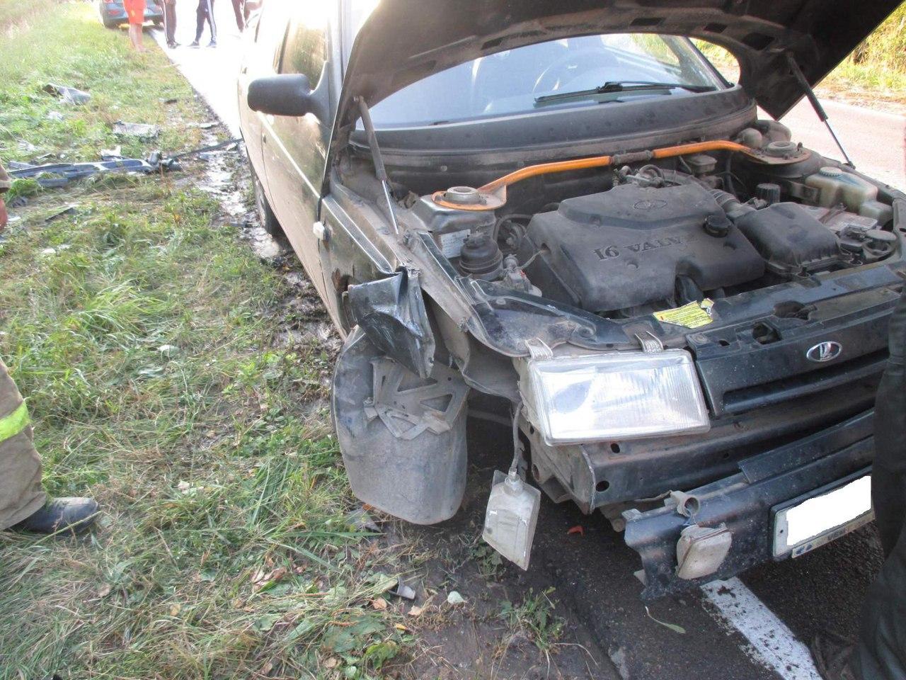 В результате ДТП водитель автомобиля «Фольксваген Гольф» скончался