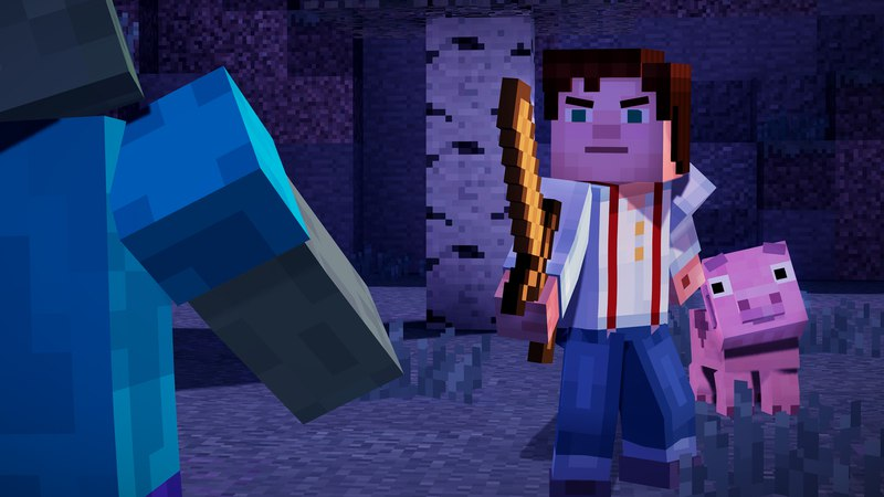 Minecraft: Story - Mode Episode 1 - 3 (2015) от CODEX скачать торрент