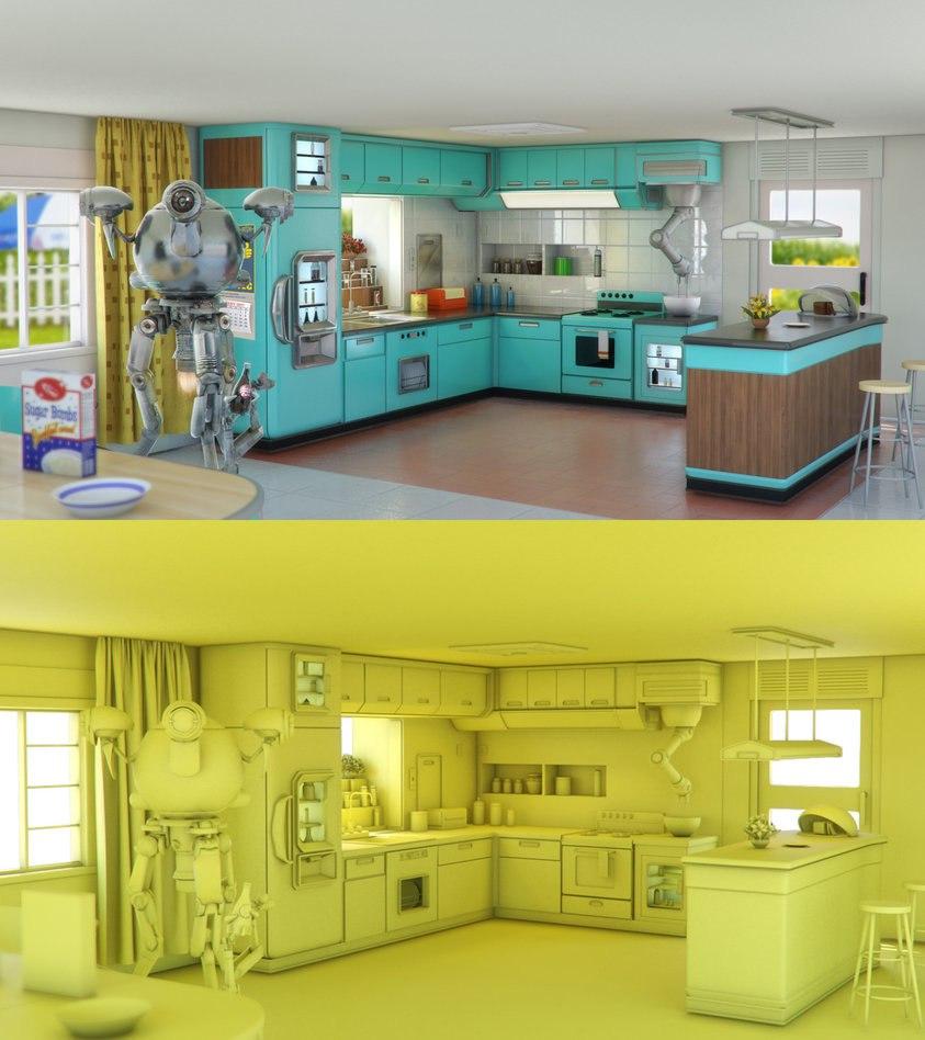 Кухню главного героя  Fallout4 распечатали на 3D принтере