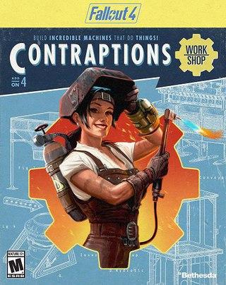 Завтра  станет доступным 4 DLC для Fallout4 Contraptions Workshop