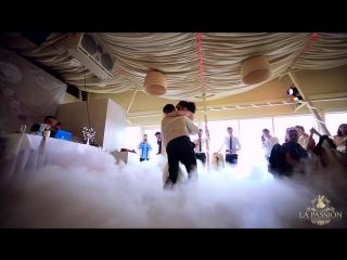 Очень красивый свадебный танец! Свадебный вальс Анастасии и Марко