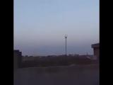 Очевидцы засняли пролет КР 3М-14Е ракетного комплекса Калибр-М над территорией Иракского Курдистана. Сирия.