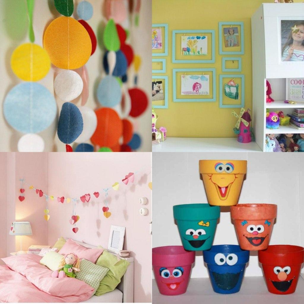 Идеи для украшения комнаты стен