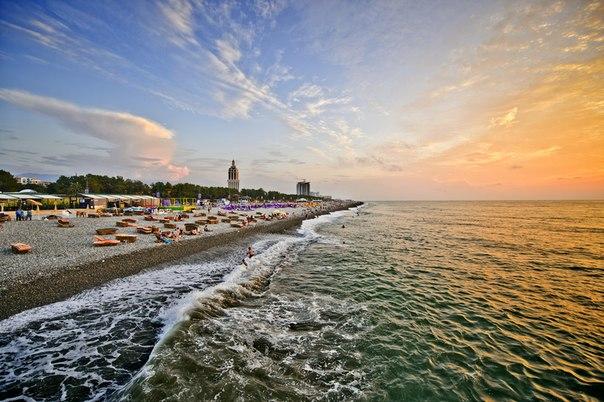 батуми пляж