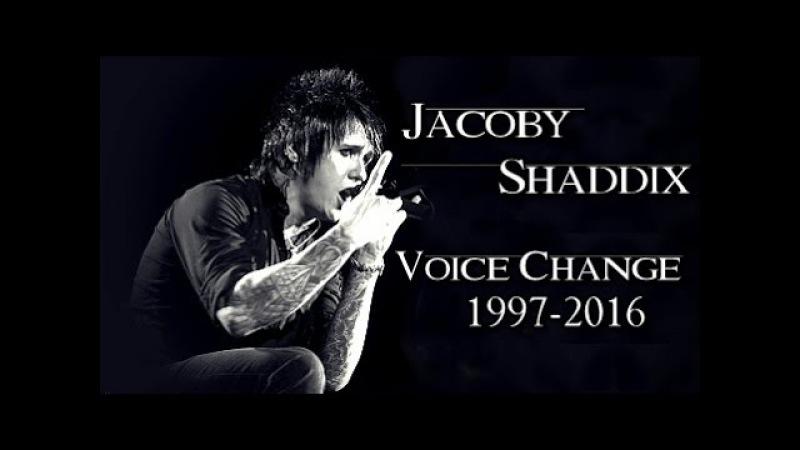 Jacoby Shaddix Voice Change 1997-2016   PAPA ROACH