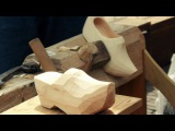 Dutch clogs (Klomp), Sabot Hollandais, Making of the Dutch Wooden Shoes