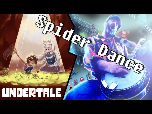 Undertale music BANJO cover ★ Spider Dance