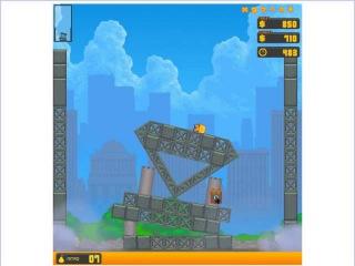 Обзорчик игры (симулятор разрушений Нью-Йорк )