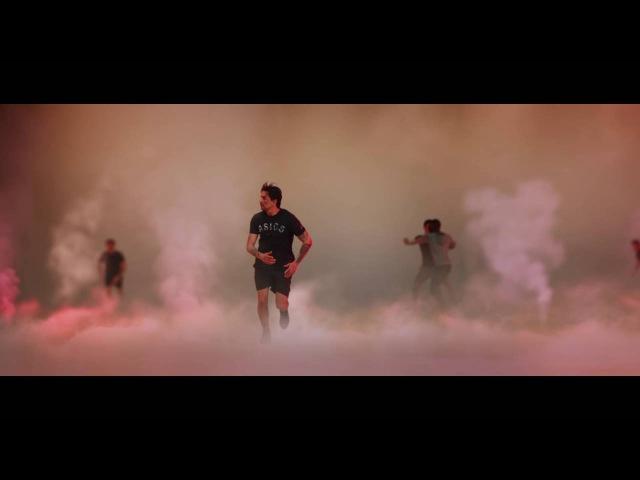Реклама бренда Asics (2016) эмоция - решимость