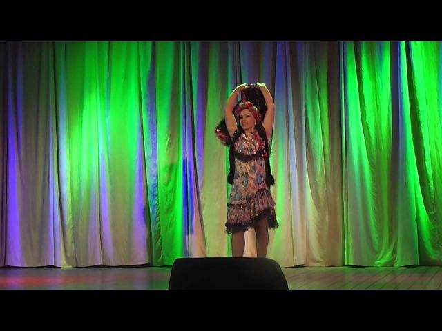 Светлана Шмакова. Эскандарани.Студия Арабского танца Байсан (г.Тамбов)