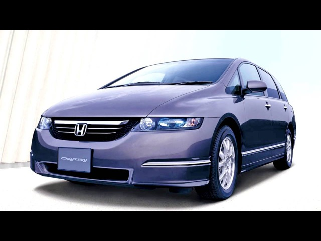Honda Odyssey JP spec RB1 '2003–08