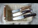 Ножи ручной работы: Бенгальский огонь 4 s90v, Вилсон 6 20cv и Camper s125v