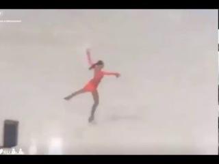 Polina Tsurskaya (RUS), short programm (SP), YOG 2016, Lillehammer