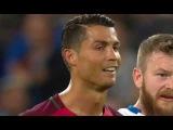 Криштиану Роналду не захотел меняться футболками и послал капитана сборной Исландии