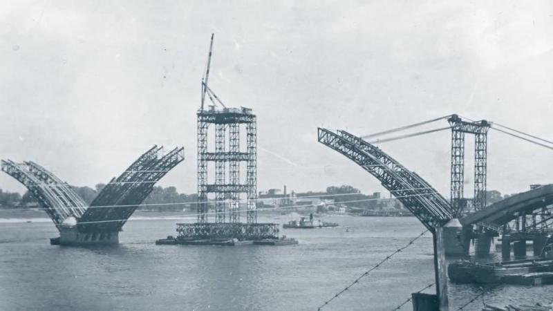Мост через Волгу Рыбинск