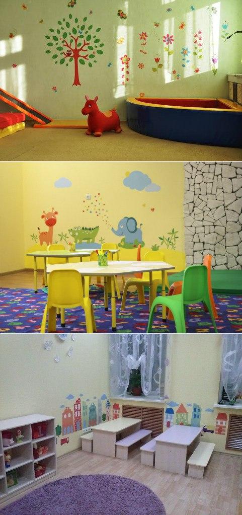 фото идеи оформления группы детского сада