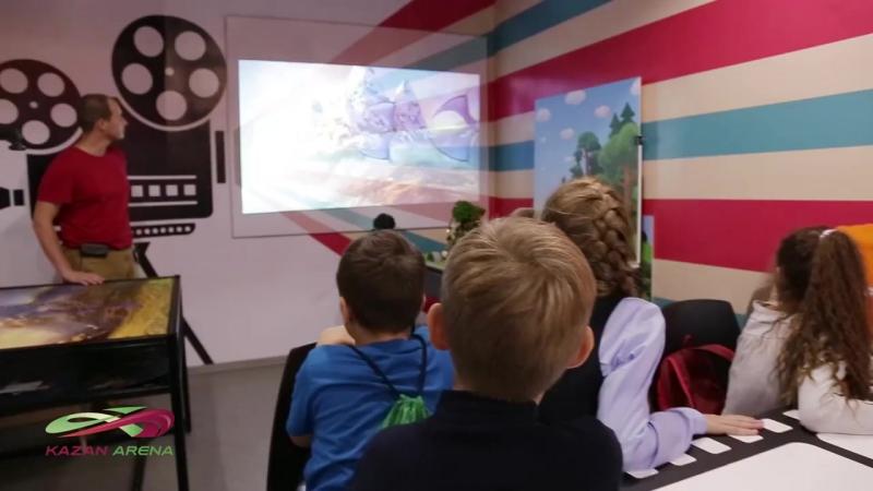 Сюжет об Открытии 03 09 2016 новой станции Академия Талантов в ДНРЦ Зарница