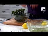 Philips Airfryer Gordon Ramsay Kale,Veggies & Chicken Salad Recipe