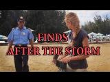 Находки после шторма и встреча с Security. After the storm. Treasure Hunters  Кладоискатели