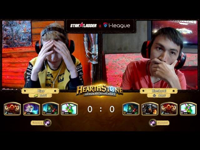 [RU] Xixo vs Xieshuai   SL i-League StarSeries S2 Finals   Play-Off