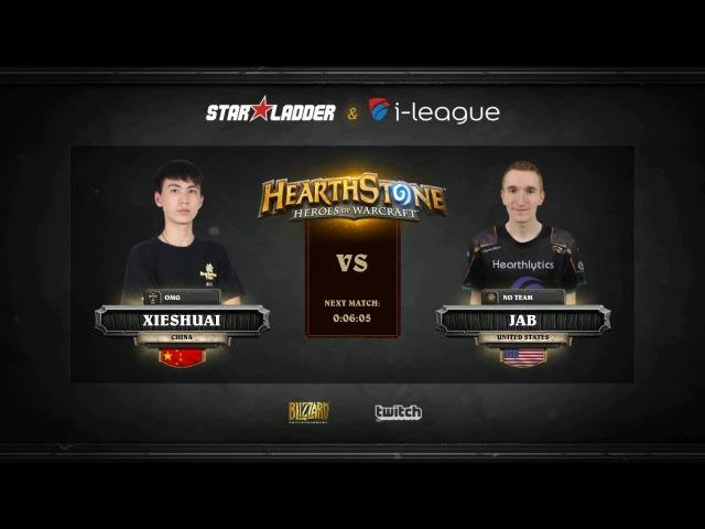 [RU] Xieshuai vs JAB   SL i-League StarSeries S2 Finals   Group A