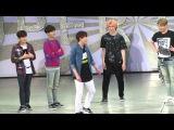 160214 SuperCamp in Taiwan - 圭賢跳舞比愛心