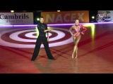 2014 Euro Ten Dance - The Final  Latin - Miha Vodicar &amp Nadiya Bychkova - Solo Jivemp4