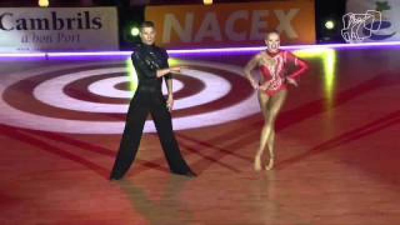 2014 Euro Ten Dance The Final Latin Miha Vodicar Nadiya Bychkova Solo Jivemp4