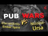 Dota 2 Pub Wars (EternaLEnVy Ember Spirit vs No[o]ne- Ursa. 8k MMR  gameplay)