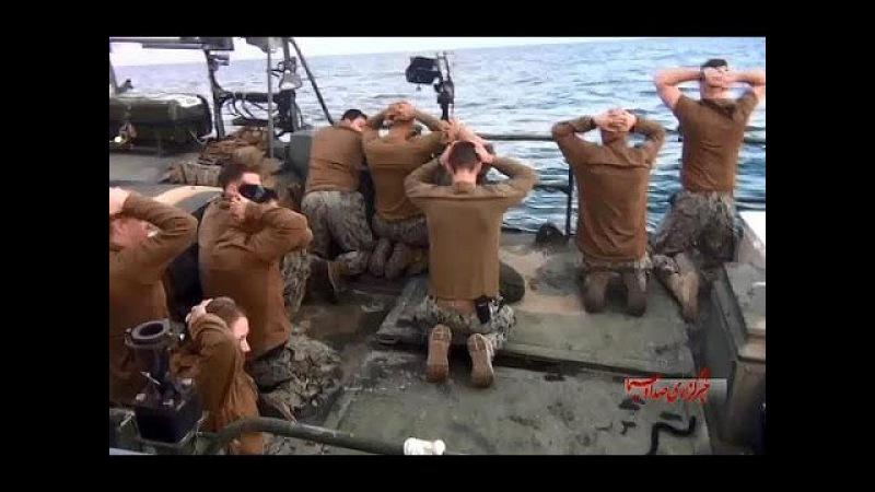 Американские морпехи на коленях / US Marines on his knees