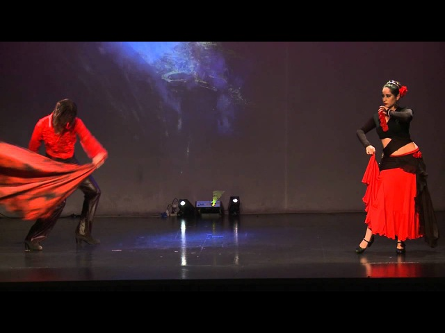 Oscar Flores Mia Sha`uri Dueto Arabe Flamenco Show Egyptian Dreams