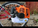 Установка двигателя на велосипед | Сборка мотовелосипеда MOTAX Lampa ecnfyjdrf ldbufntkz yf dtkjcbgtl | c,jhrf vjnjdtkjcbgtlf mo