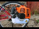 Установка двигателя на велосипед Сборка мотовелосипеда MOTAX Lampa ecnfyjdrf ldbufntkz yf dtkjcbgtl c jhrf vjnjdtkjcbgtlf mo
