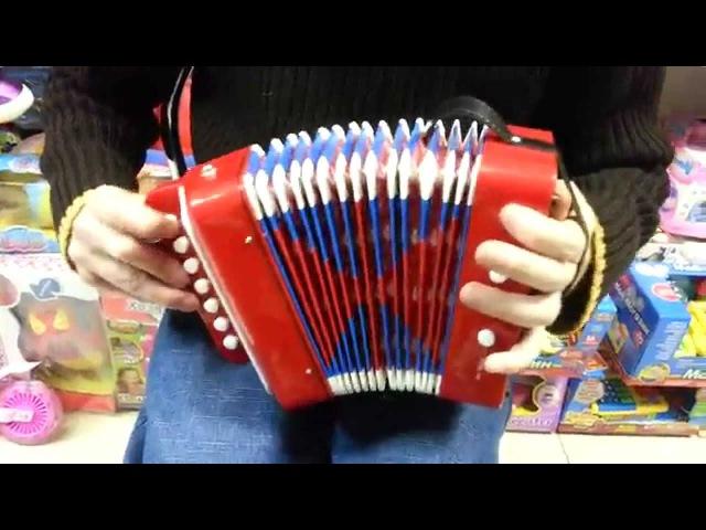 Детская гармошка в магазине игрушек Пчеленок Баян детский акордеон