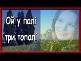 Українська Народна Пісня. Ой У Полі Три Тополі