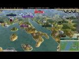 Обзор огромной карты Европы для Sid Meier's Civilization V