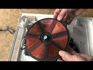 А что внутри :) Разборка и обзор индукционной плиты HILTON EKI 3890 на 2000 Ватт. ZikValera